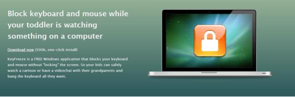 khóa bàn phím laptop