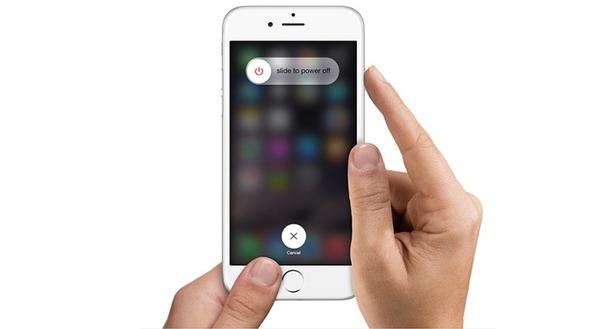 Tắt nguồn iphone