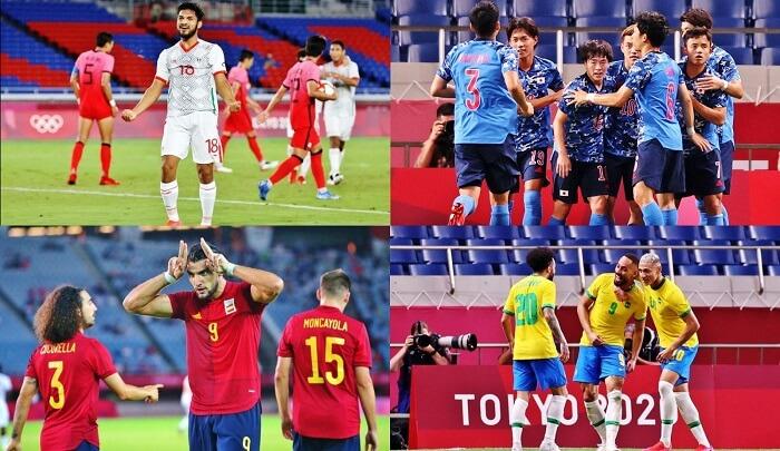 Vòng bán kết bóng đá nam Olympic 2020